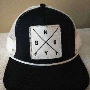 Brooklyn Apparel Company Snapback cap.